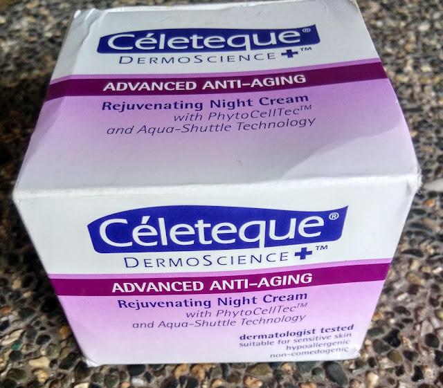 Céleteque Advanced Anti-Aging Rejuvenating Night Cream