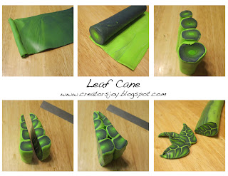 Meg Newberg's Leaf Cane Tutorial