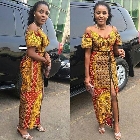 924eb30939 Ankara Xclusive  2018 Current African Dresses  Latest Elegant and ...