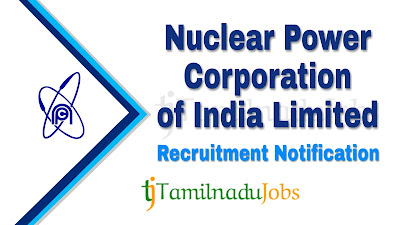 NPCIL Recruitment notification 2019, govt jobs for ITI, govt jobs for Dipolma