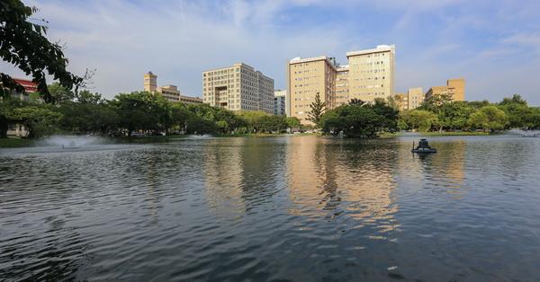 台中南區|中興大學-中興湖環湖生態、校園建築風光