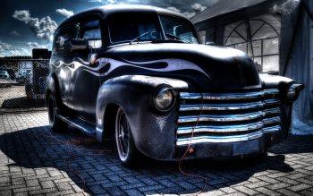 Wallpaper: Old American car