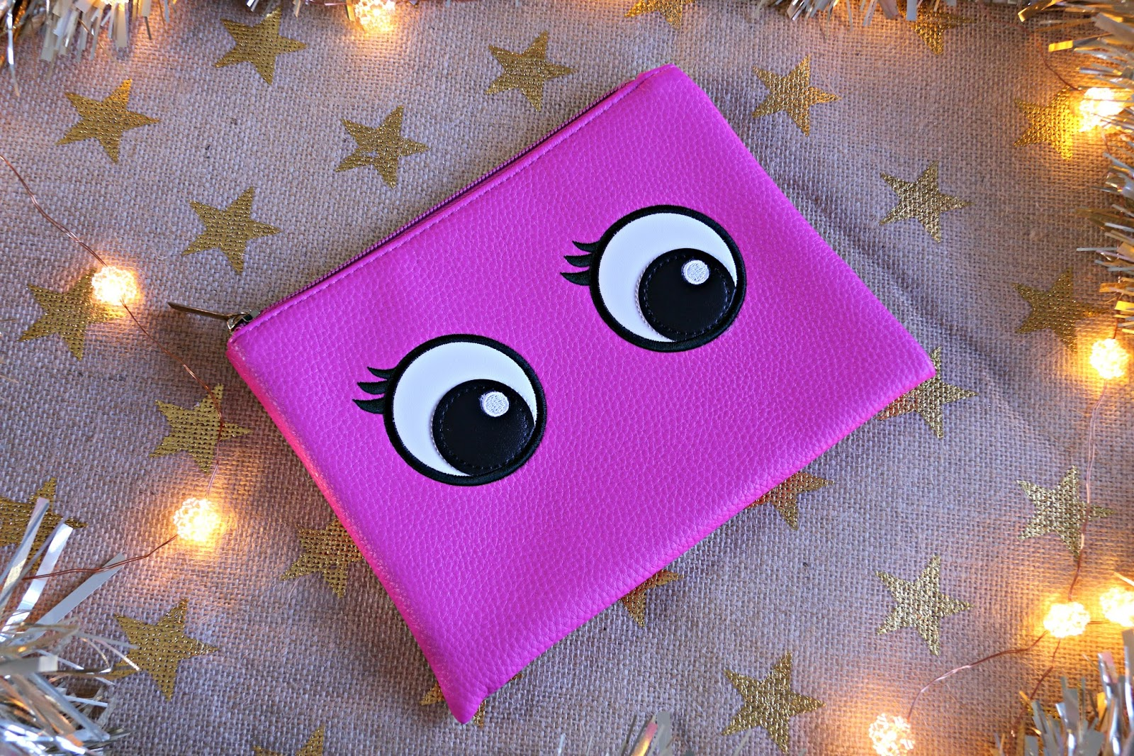 Superdrug Googly Eyes Cosmetic Pouch Image