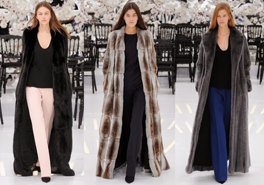 Christian Dior Winter Eleganz