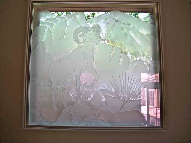 How to Frost WINDOW GLASS