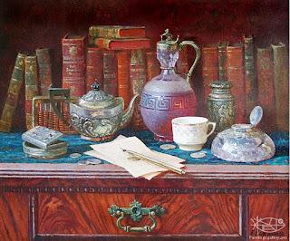 bodegones-antiguos-cuadros-realistas-pintor-naturaleza-muerta