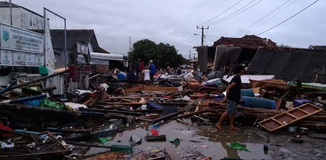 Warga Kecamatan Sumur Belum Tersentuh Tim Evakuasi