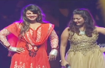 Rambha dances for UR My Darling with Gayathri Raghuram