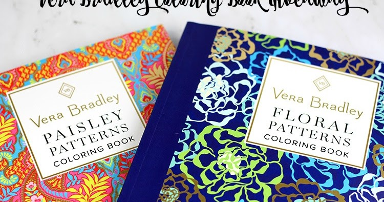 Vera Bradley Coloring Book Giveaway - Everything Pretty