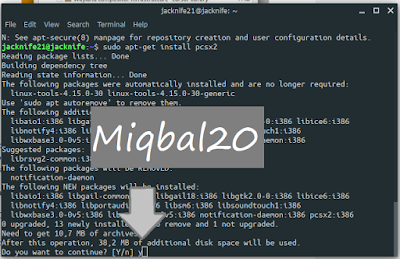 Miqbal20 - Cara Ampuh Setting PCSX2 1.4.0 di Linux Ubuntu