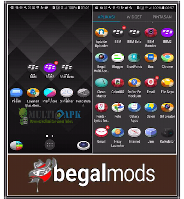 3D Icon Pack Mod v3 by BegalMods Terbaru