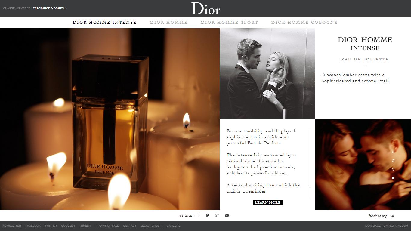 dior official website
