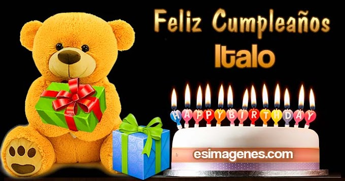 Feliz Cumpleaños Italo