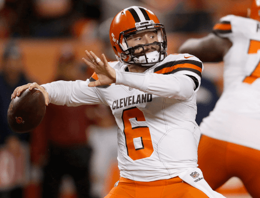 Browns keep slim playoff hopes alive with a win against Broncos