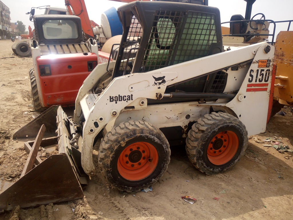 Rafiq Brothers Bobcat S150 Skid Stress Mini Loader For