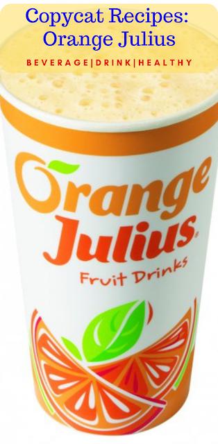 Copycat Recipes: Orange Julius