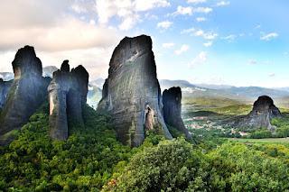 Grécia-cadeia-de-montanhas