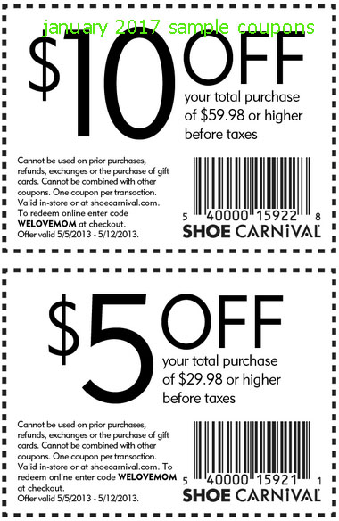 photo about Shoe Department Printable Coupon identify Shoe clearly show coupon codes inside of retail outlet - Busy Discount coupons