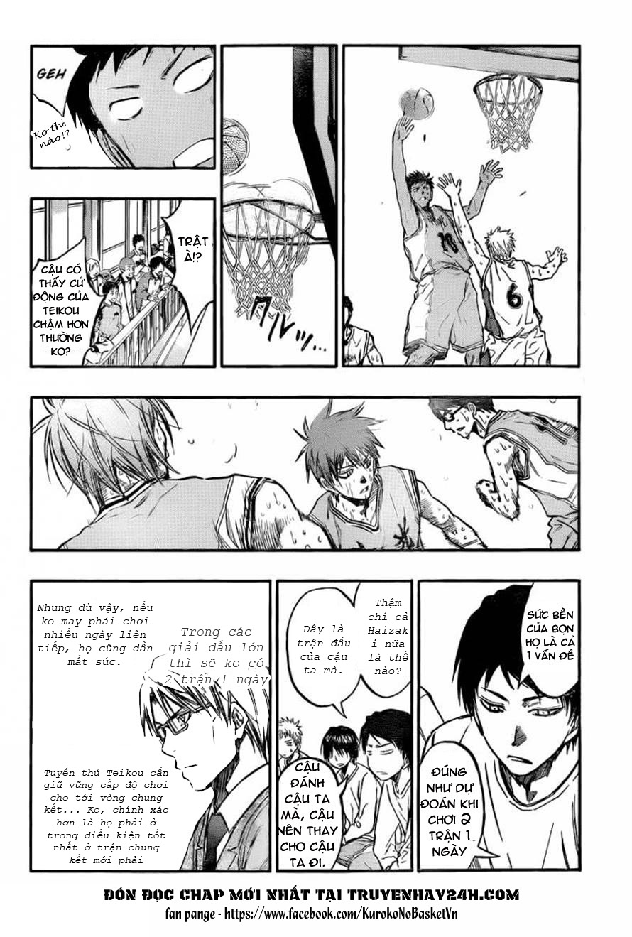Kuroko No Basket chap 209 trang 12