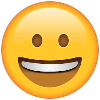 Whatsapp Smiling Face large Emoji
