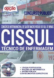 apostla CISSUL Concurso SAMU 2016 TÉCNICO DE ENFERMAGEM