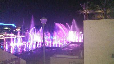 Поющие фонтаны в Эйлате