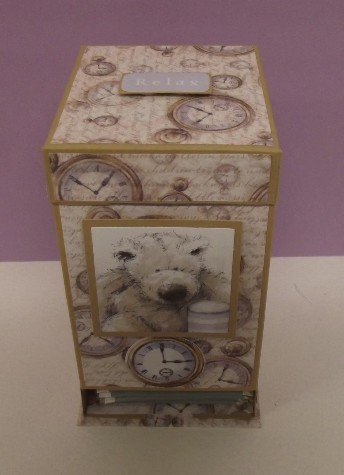 Night Owl Designs: Tea Caddy Tutorial