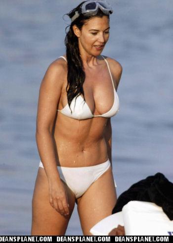 That monica white bikini are