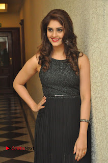 Actress Surabhi Stills in Black Long Dress at turodu Audio Launch  0050.JPG