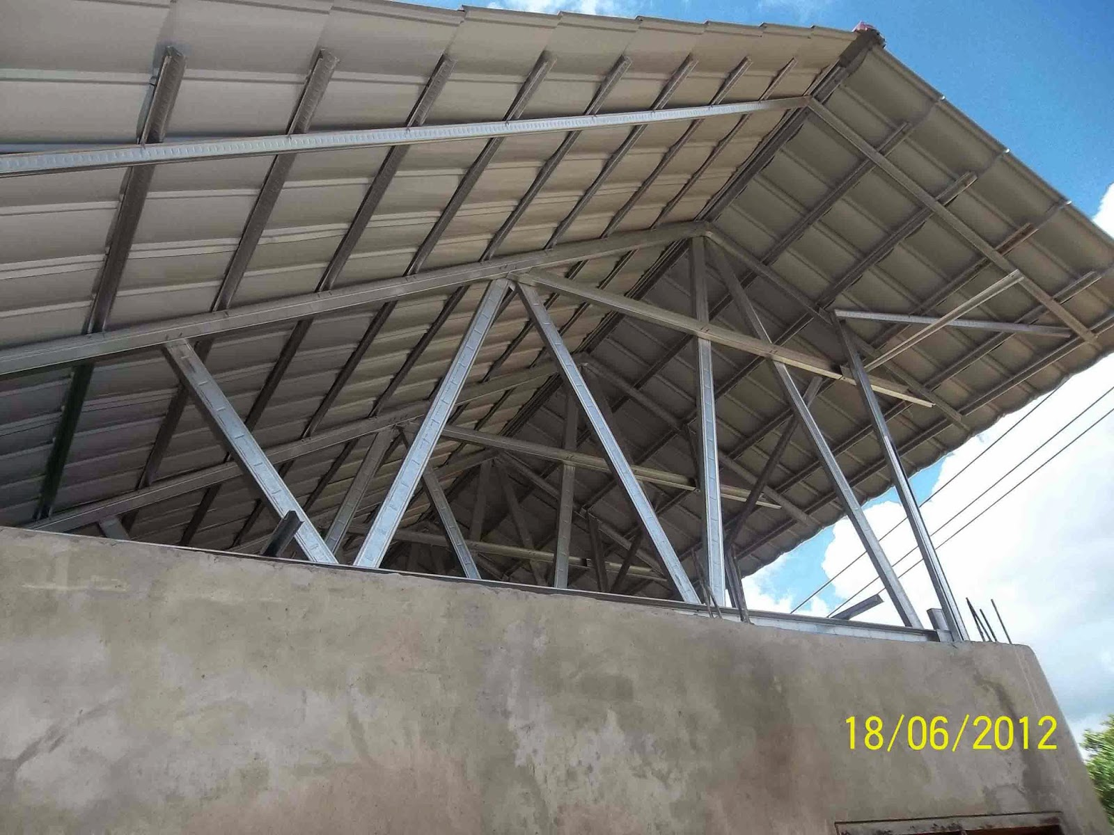 atap baja ringan nganjuk engineering design and architectural galvalum
