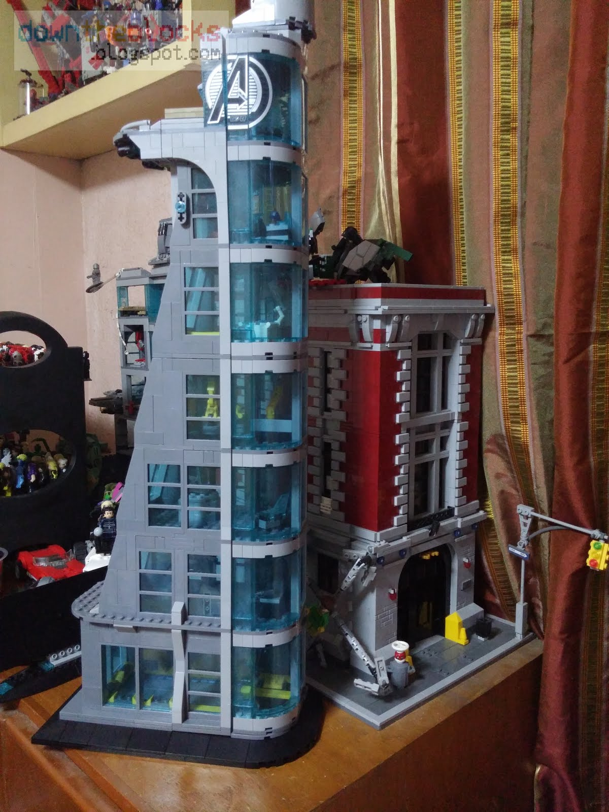 Downtheblocks Sheng Yuan Sy678sh678 Extended Avengers Tower Review