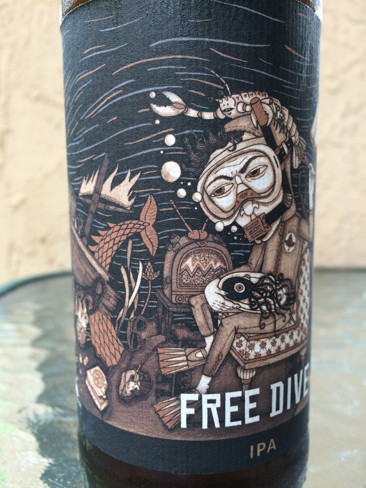 Daily Beer Review Free Dive Ipa