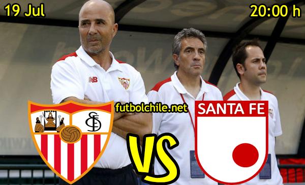 VER STREAM YOUTUBE RESULTADO EN VIVO, ONLINE: Sevilla vs Santa Fe