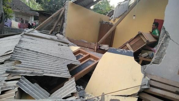 Lombok Diguncang 3 Kali Gempa pada Minggu Pagi Ini