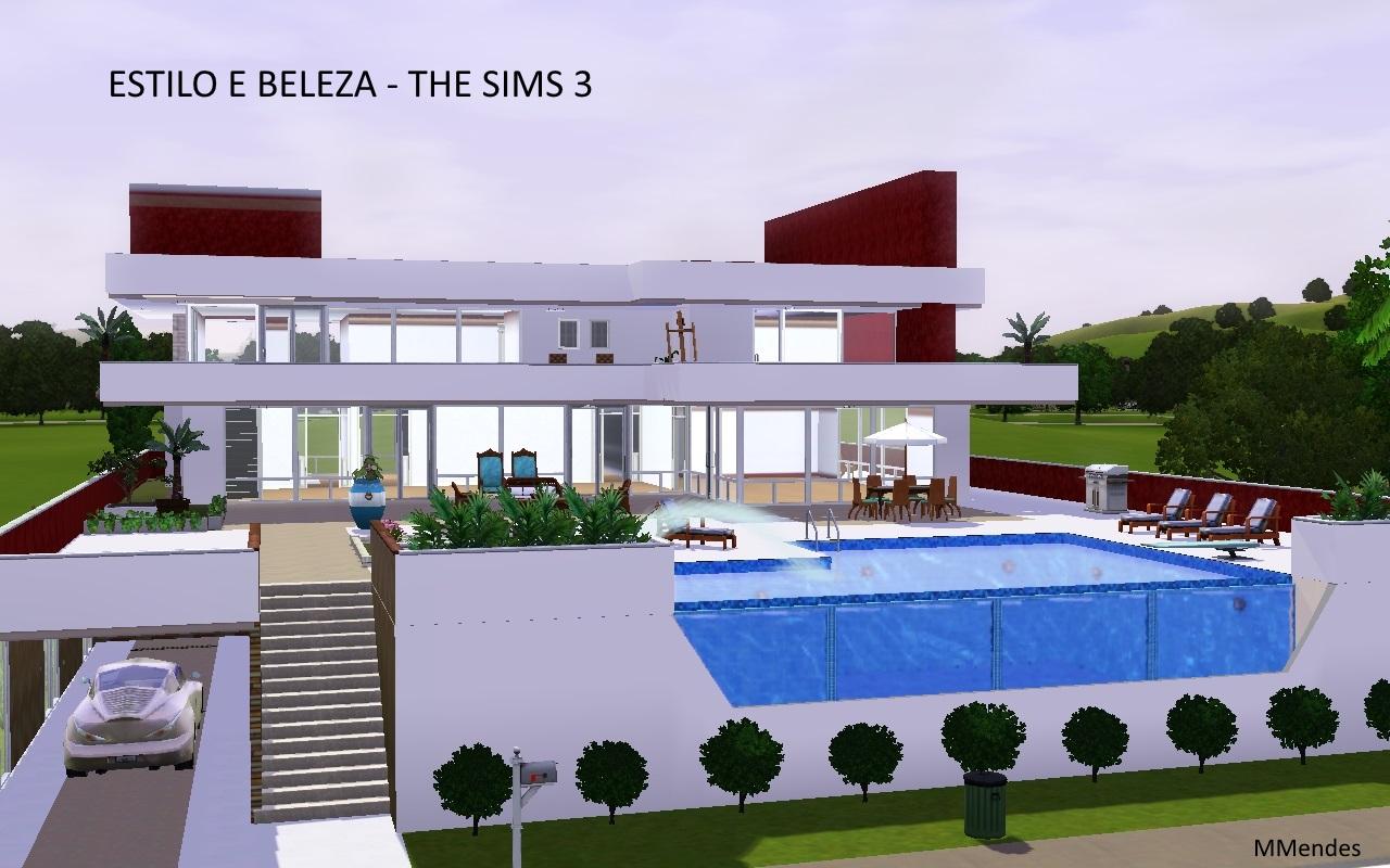 Artes cria es de maria mendes lotes the sims 3 for Piscina sims 4