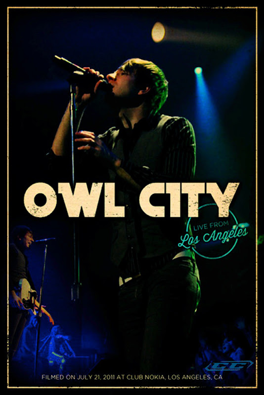 Owl City - Live from Los Angeles 2012 English Christian Concert Film