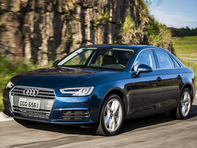 Novo Audi A4 2017 - condução autônoma