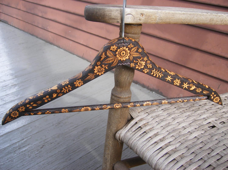Diy Coat Hanger Snowflake