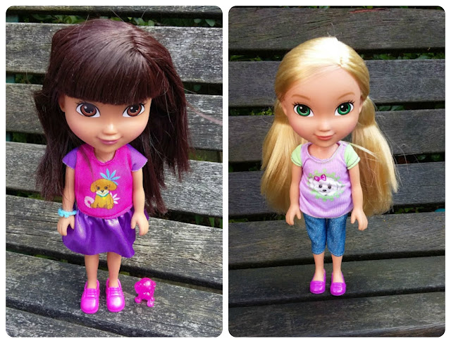 Dora and Friends Dolls Dora and Alana