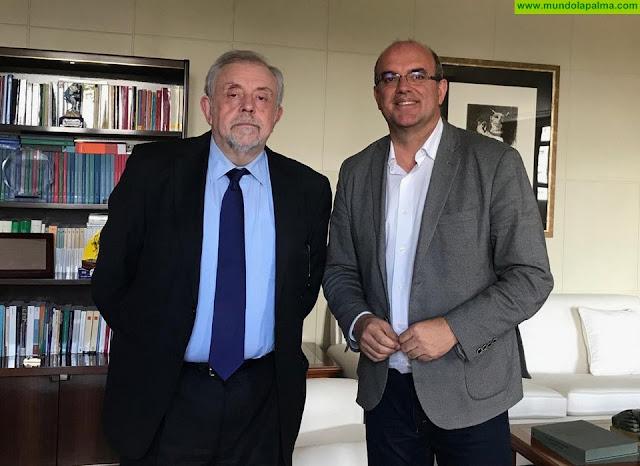 Anselmo Pestana anuncia que el Gobierno de España ya ha ordenado la reversión de los terrenos del antiguo Hospital de Las Nieves