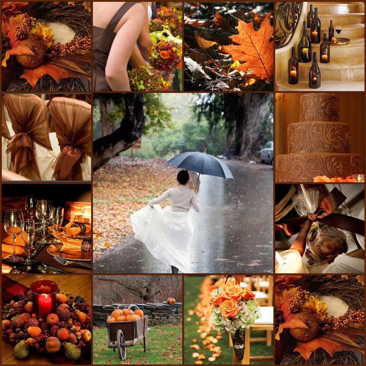 Wedding Ideas For October: Estelle's: Wedding Blessings....October's Falling Leaves