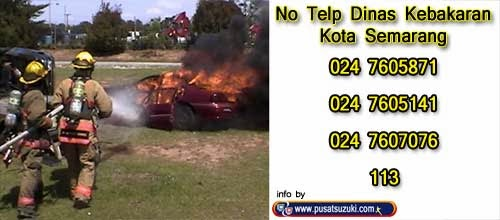 telepon pemadam kebakaran semarang
