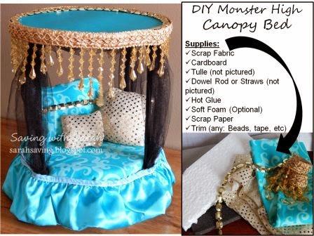 Sweet Treats by Sarah: DIY Monster High Dollhouse