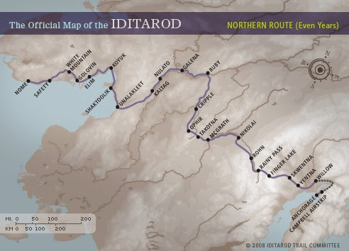 Iditarod Race Report