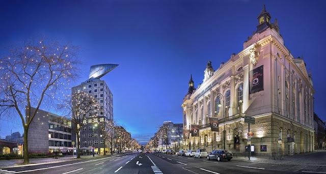Kurfürstendamm em Berlim