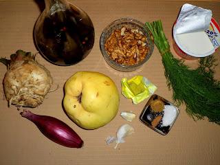 Рецепта за крем супа от целина и дюля