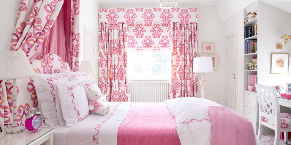60 Desain Interior R Tidur Warna Pink Untuk Perempuan