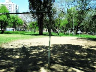 Futebol de Areia na Praça Leda Schneider, Porto Alegre