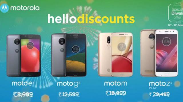 Moto E4, Moto G5, Moto M and Moto Z2 Play