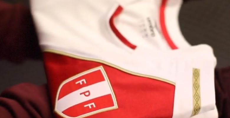 60e1f0614 Peru 2018 World Cup Home Kit Released